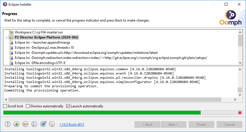 Installing Eclipse for CP104